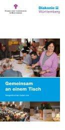Gemeinsam an einem Tisch - Diakonie Württemberg