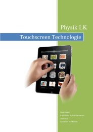 Touchscreen Technologie - Android-Hilfe.de