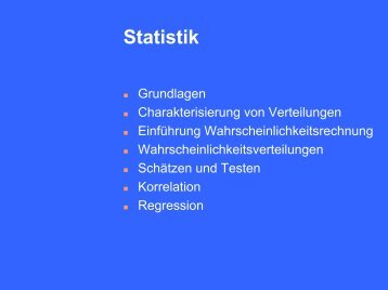 7. Regression - Homepage.uni-tuebingen.de
