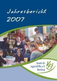 Jahresbericht - Verein für Jugendhilfe eV