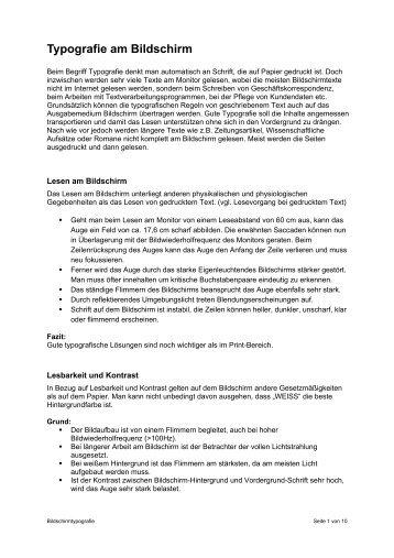 Bildschirmtypografie 3.pdf - Mediencommunity.de