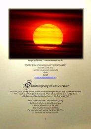 Quantensprung im Venustransit - pachamama 2012