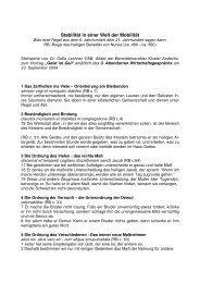 Stablilität in einer Welt der Mobilität(PDF Dokument, 26 ... - Attendorn