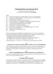 Ortspolizeiliche Verordnung 2012 (47 KB) - .PDF - Mattsee