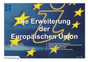 Die Erweiterung der Europäischen Union Die ... - technihima