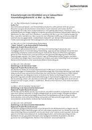 Download Pressemitteilung - die regionale 2013 - Südwestfalen