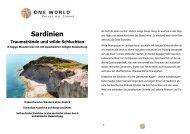 Traumstrände und wilde Schluchten 2013 - ONE WORLD Reisen ...