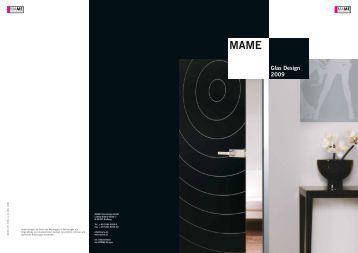 MAME Glas Design 2009 - Fit In Glas