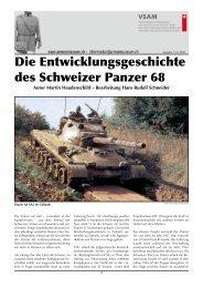Die Entwicklungsgeschichte des Schweizer Panzer 68 - Verein ...