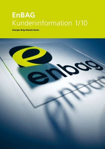 Informationsblatt EnBAG – 1/10