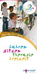 für Kinder von 1–7 Jahren - Ortho-Team