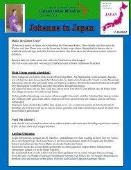 Johanna Fuchs Rundbrief 2