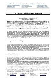 Lactulose und MS, pdf, 81 KB - Ever.ch