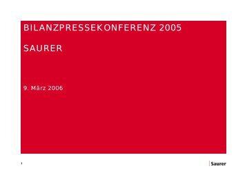 in Mio. EUR 2005 2004 - Oerlikon Barmag