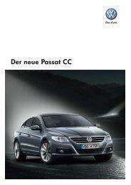 Der neue Passat CC - Autohaus Knabe