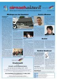 Ersatzwahl - Gemeinde Sirnach