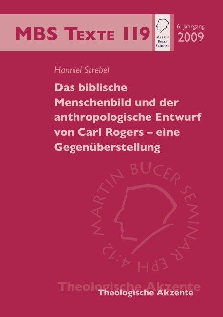 Das biblische Menschenbild und der anthropologische ... - TheoBlog