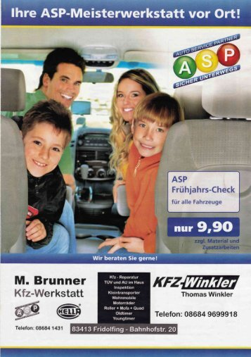 M. Brunner - KFZ-Winkler