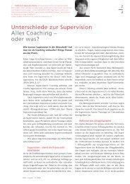 Unterschiede zur Supervision Alles Coaching - Www3.datacomm.ch