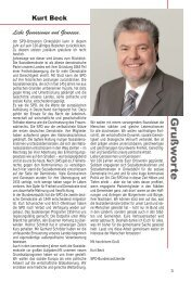 Festschrift - SPD-Ortsverein Dinkelsbühl