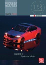 BRABUS BULLIT by auto motor und sport - Dimsport Technology
