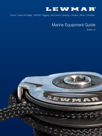 Katalog - Lewmar
