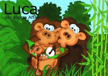 Luca der kleine Affe, Bilderbuch, jetzt kaufen im Shop - daniacreation