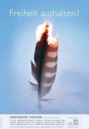 2013 - Freiheit aushalten! - Iserlohn