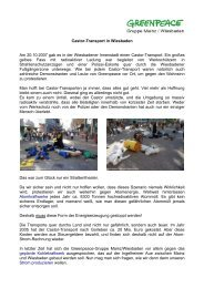 Den vollständigen Bericht lesen - PDF-Datei. - Greenpeace ...