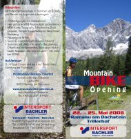 Mountain Opening - teambenefit.at