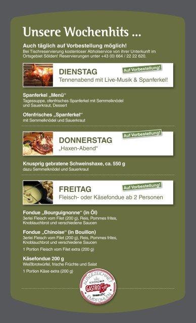 aktuelle Speisekarte als PDF-Download - GIGGI TENNE SÖLDEN