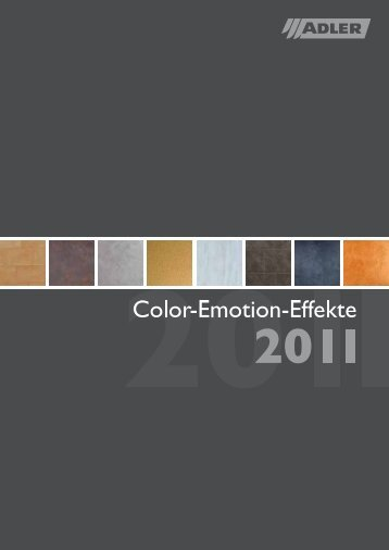 Color Emotion Effekte PDF | 4.9 MB - ADLER - Lacke