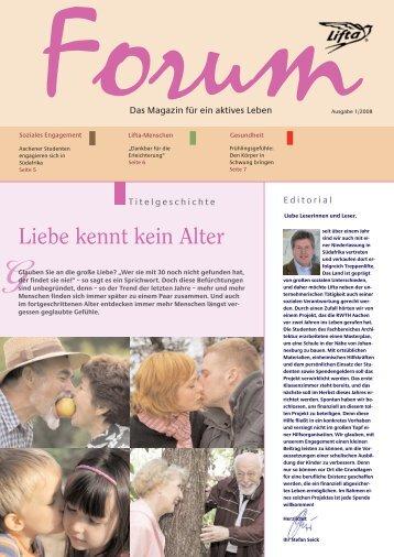 Lifta Forum: Große Liebe – starke Marke Lifta – Frühlingsgefühle ...