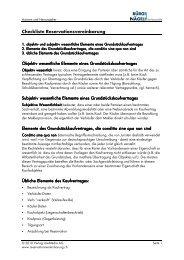 Checkliste Reservationsvereinbarung (PDF, 64 KB)