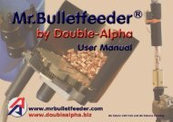 MR.BUllETFEEdER® by DOUblE-AlPHA GEbRAUCHSANwEISUNG
