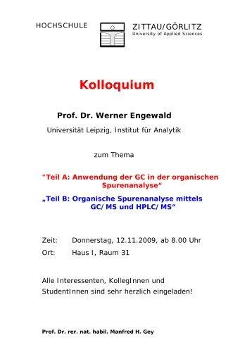 Prof. W. Engewald - papa-gey.de