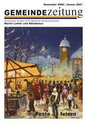 Ausgabe Dezember/Januar 2006/2007 - Martin-Luther-Kirche