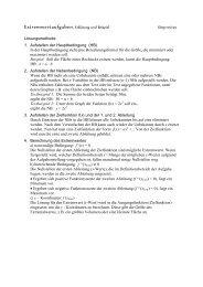 Extremwertaufgaben, Erklärung und Beispiel ... - Mathesite