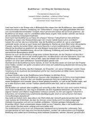 Buddhismus - ein Weg der Geistesschulung - Greenfield 22