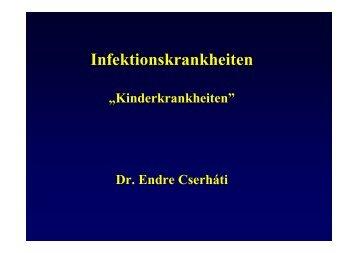 Fertőző betegségek németül \(2009.03.23.\) - doki.NET Portál