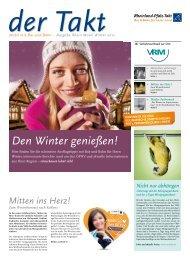Der Takt Ausgabe 3/12.pdf - Verkehrsverbund Rhein-Mosel