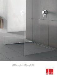 ACO ShowerStep – Gefälle nach Maß
