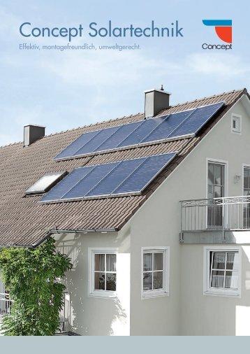 Concept Solartechnik - Bergmann & Franz