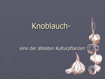 Knoblauch-