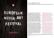 das Programm als PDF. - EMAF