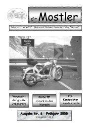 Mostler 6 2005 - Motorrad-Oldtimer-Stammtisch Vorarlberg