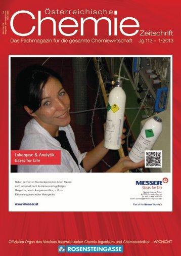 aKtuell - Österreichische Chemie-Zeitschrift