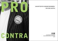 Garantiertes Grundeinkommen: Pro und Contra - Bildungswerk ...