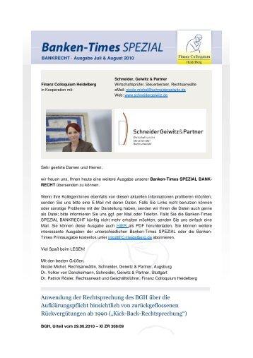 PDF-Download - Schneider Geiwitz & Partner