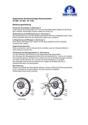 Gegenstromanlage ST Basiseinheit